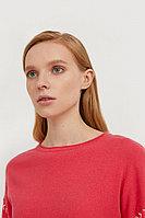 Джемпер женский Finn Flare, цвет розово-лиловый, размер 2XL