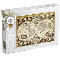 Пазлы 'Историческая карта мира', 2000 элементов