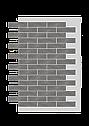 Декоративное покрытие Фасад АМК кирпич Однотонный, фото 4