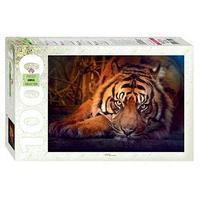 Пазл 'Сибирский тигр', 1000 элементов