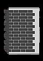 Декоративное покрытие Фасад АМК кирпич Однотонный, фото 5