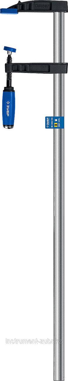 Струбцина тип F 1000/120 мм, ЗУБР ПС-1000/120
