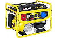 Бензиновый генератор STEHER с электростартером, 7000 Вт, 15 лс двигатель, 220 В, GS-8000Е