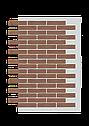 Декоративное покрытие Фасад АМК клинкер Однотонный, фото 4