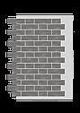 Декоративное покрытие Фасад АМК тычок Однотонный, фото 7