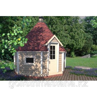 Гриль-домик восьмигранный, - 3,5 х 3,5 м