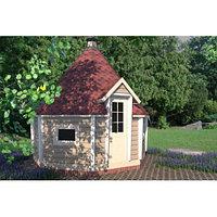 Гриль-домик восьмигранный, - 3,5 х 3,5 м, фото 1