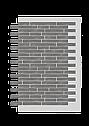 Декоративное покрытие Фасад АМК ригель Однотонный, фото 4