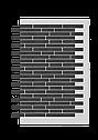 Декоративное покрытие Фасад АМК ригель Однотонный, фото 5