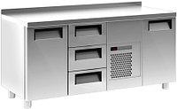 Холодильный стол Carboma 3GN/NT (2 двери, 3 ящика)