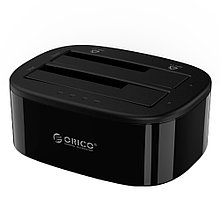 "Док-станция 3.5""/2.5"" Orico 6228US3-C, SATA, USB 3.0, Black, Алматы"
