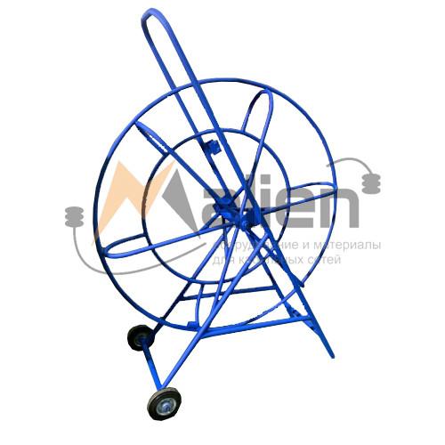 Тележка (кондуктор) К-11/01 для УЗК d=11 мм, L ≤ 400м на колесах (без стеклопрутка) МАЛИЕН