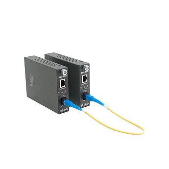 D-Link DMC-920T/B10A Медиаконвертер одномод 20 км WDM