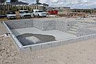 Блочный  пленочный бассейн 8х4х1.6м, фото 2