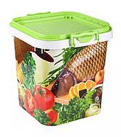 Ёмкость для мёда рыбы 25л. (Альтернатива пласт, Россия)
