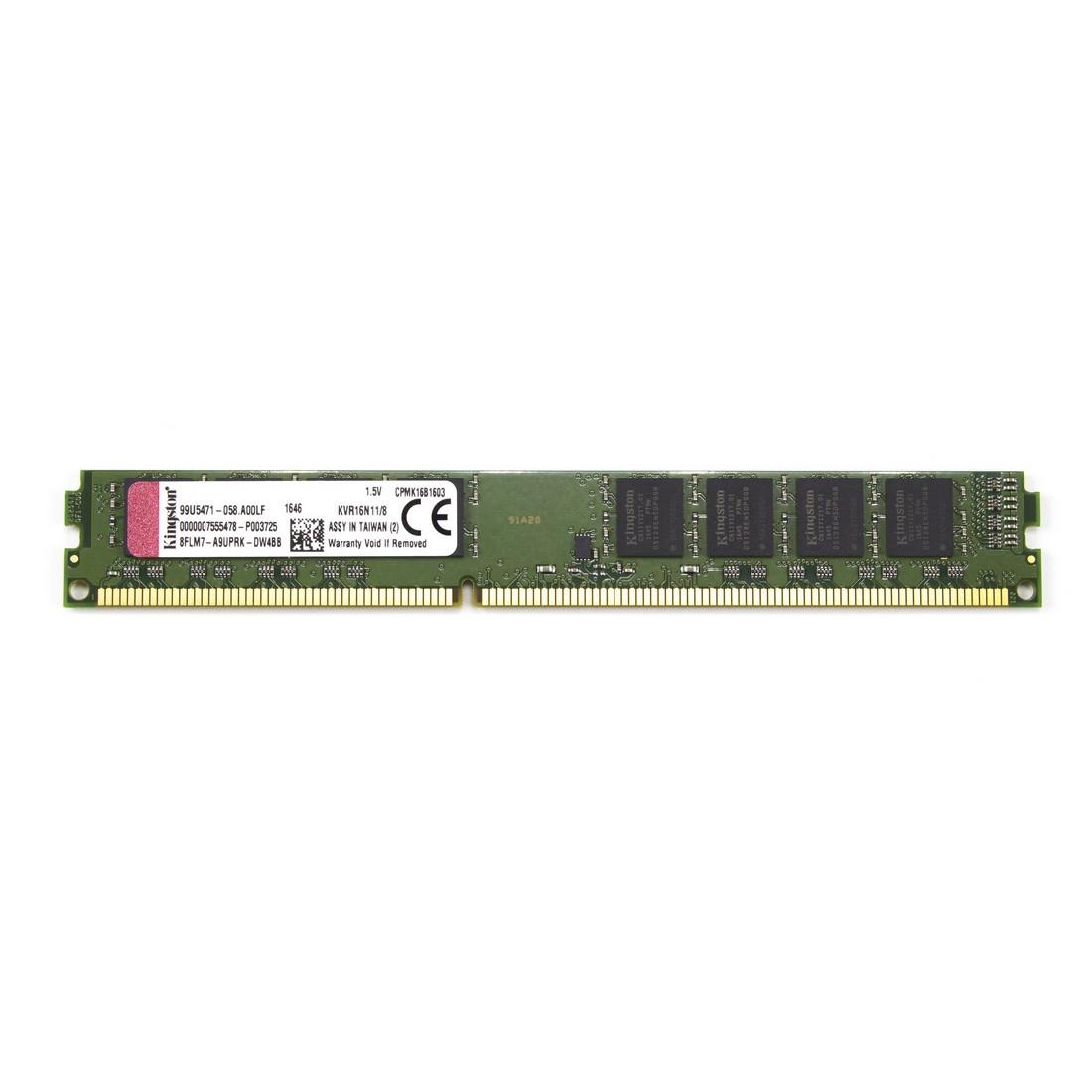 ОЗУ Kingston 8Gb/1600MHz U11 DDR3 UDIMM KVR16N11/8