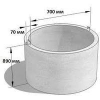 Кольцо железобетонное стеновое КС7.9б