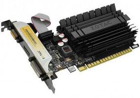 SVGA PCI Express, 2 GB, Zotac GT 730 Zone Edition [ZT-71113-20L], DVI/HDMI/VGA, GDDR3/64bit