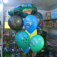 Машинка Twister + 5 шаров