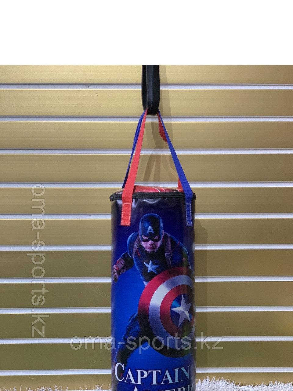 Боксерский мешок (груша) баннер, опилки, 100 см - фото 2