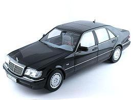 1/18 Norev Коллекционная модель Mercedes-Benz S600 W140 1997