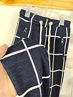 №16005 Мягкие брюки , син цв, 8-13 л 2015