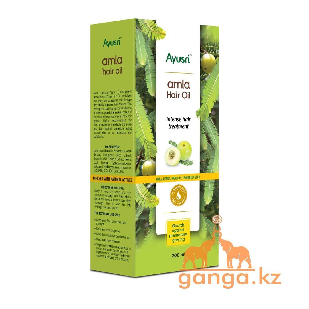 Масло для волос от выпадения Амла  (Amla hair oil AYUSRI), 200 мл