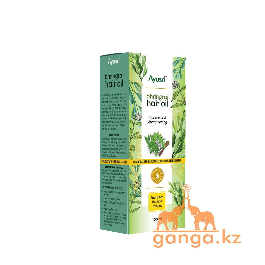 Масло для восстановления и укрепления волос Бринградж (Bringraj hair oil AYUSRI), 100 мл