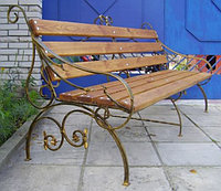 Недорогие скамейки для дачи