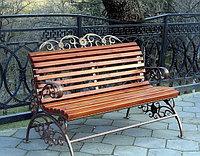 Скамейки для дачи из металла