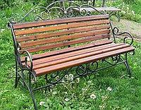 Скамейка из железа