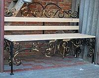 Изготовление металлических скамеек