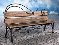 Кованые столы и скамейки