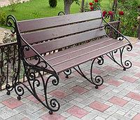 Скамейки парковые металлические