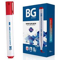 Маркер для доски BG 7219 WBM 3мм красный