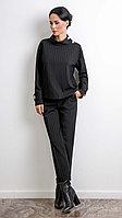 Стильный черный костюм Vladini