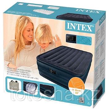 Надувная кровать 152х203х56 см , Intex 66718