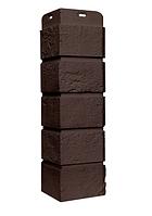 Угол наружный Коричневый, Состаренный кирпич,серия Стандарт (моноцвет) 417 мм Grand Line