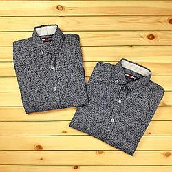 Рубашка с узорами №1849