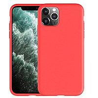Чехол на телефон Красный Silicone Case iPhone 11