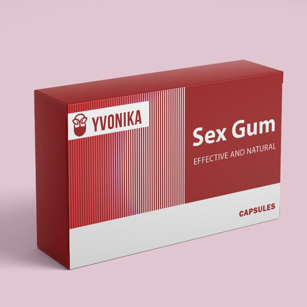 Sex Gum - капсулы для возбуждения