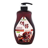 Натуральное средство для мытья посуды PoshOne Pomegranate (Гранат) с дозатором, 750мл