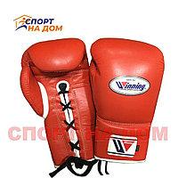 Бокс перчатки Winning (красные) 16 OZ
