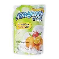 Средство для мытья посуды (Апельсин) Newgreen Dishwashing Detergent, 1.2л