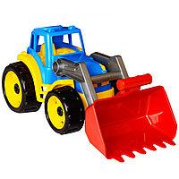 Игрушка трактор Максик с ковшом, ТехноК