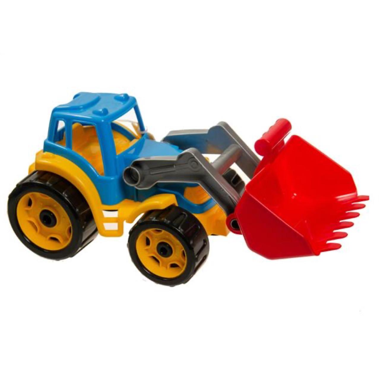 Игрушка трактор Максик с ковшом, ТехноК - фото 2