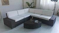 Комплект мебели модульный диван, журнальный столик