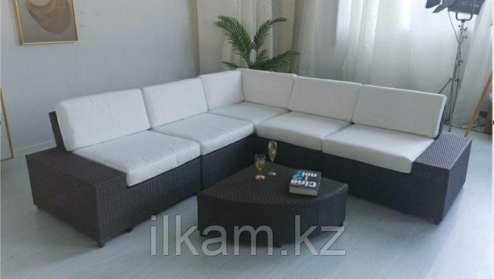 Комплект мебели модульный диван, журнальный столик, фото 2