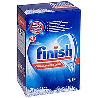 Специальная соль для посудомоечных машин FINISH 5х, 1,5 кг