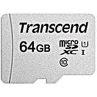 Карта памяти Transcend MicroSDXC 300S 64GB